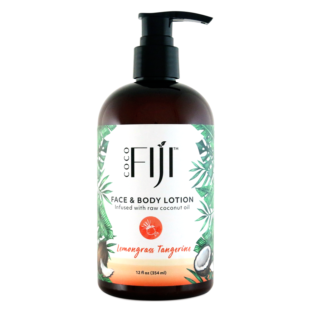 Face & Body Lotion - Infused with Raw coconut Oil