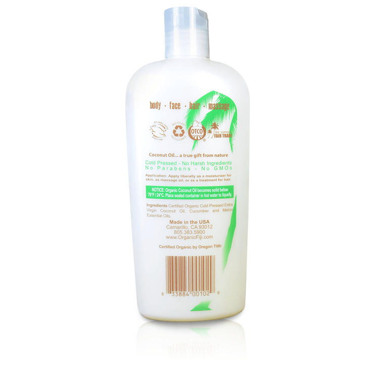 Organic Coconut Oil for Body & Hair