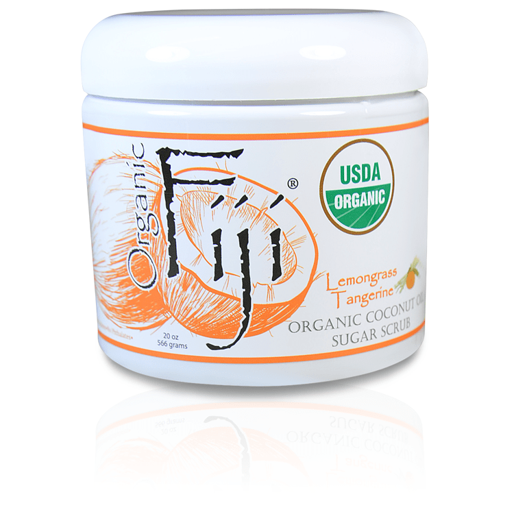 USDA Certified Organic Coconut Oil Body Scrub