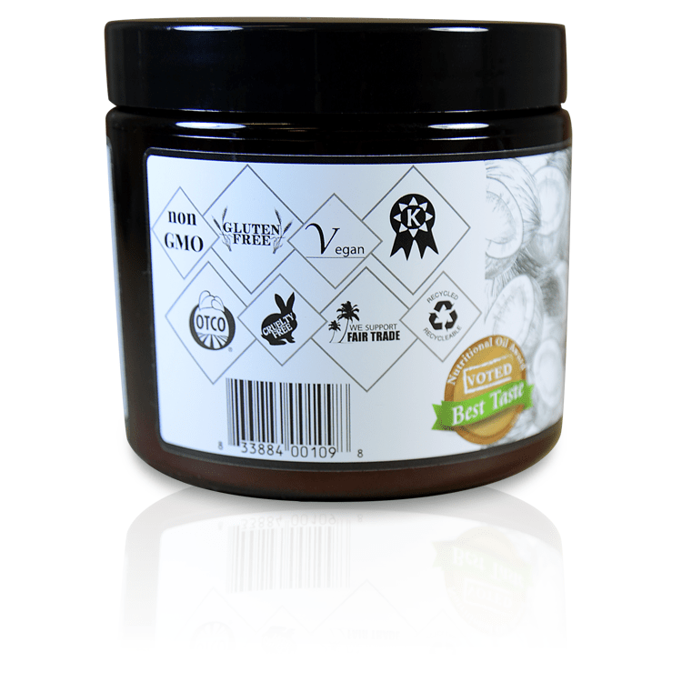 USDA Certified Organic Nutritional Coconut Oil