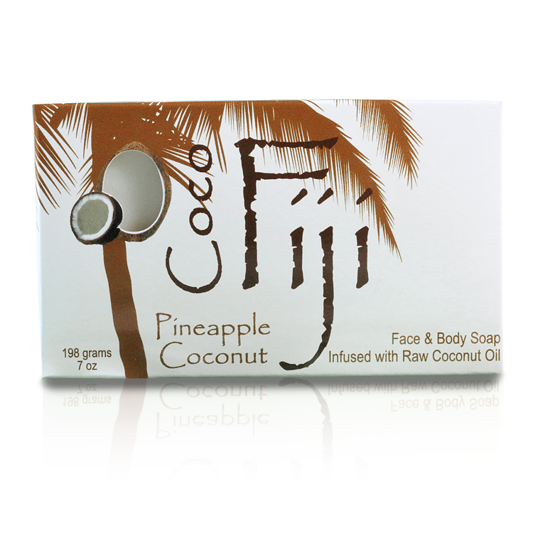 Face & Body Soap - Infused with Raw Coconut Oil