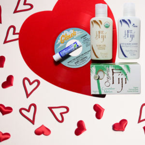 Organic Fiji's Valentine's Day Starter Set – Infused with organic coconut oil