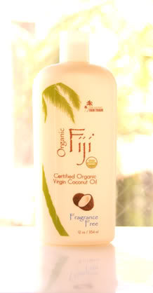 fragrance free organic coconut oil