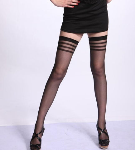 Black Cored Pantyhose Stocking