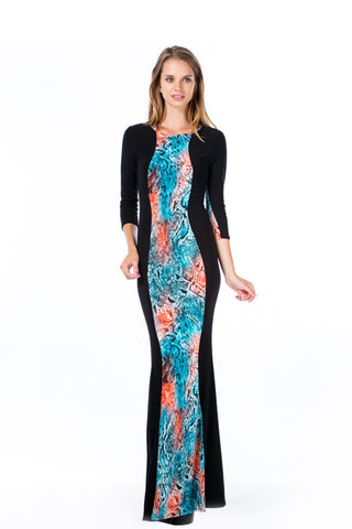 Long Slinky Maxi Dress