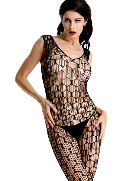 Seductive Women's Bridal Babydoll Bodystocking Lingerie