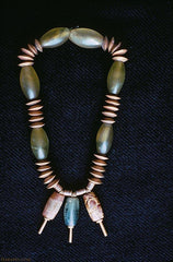 Indus Valley seed bead necklace