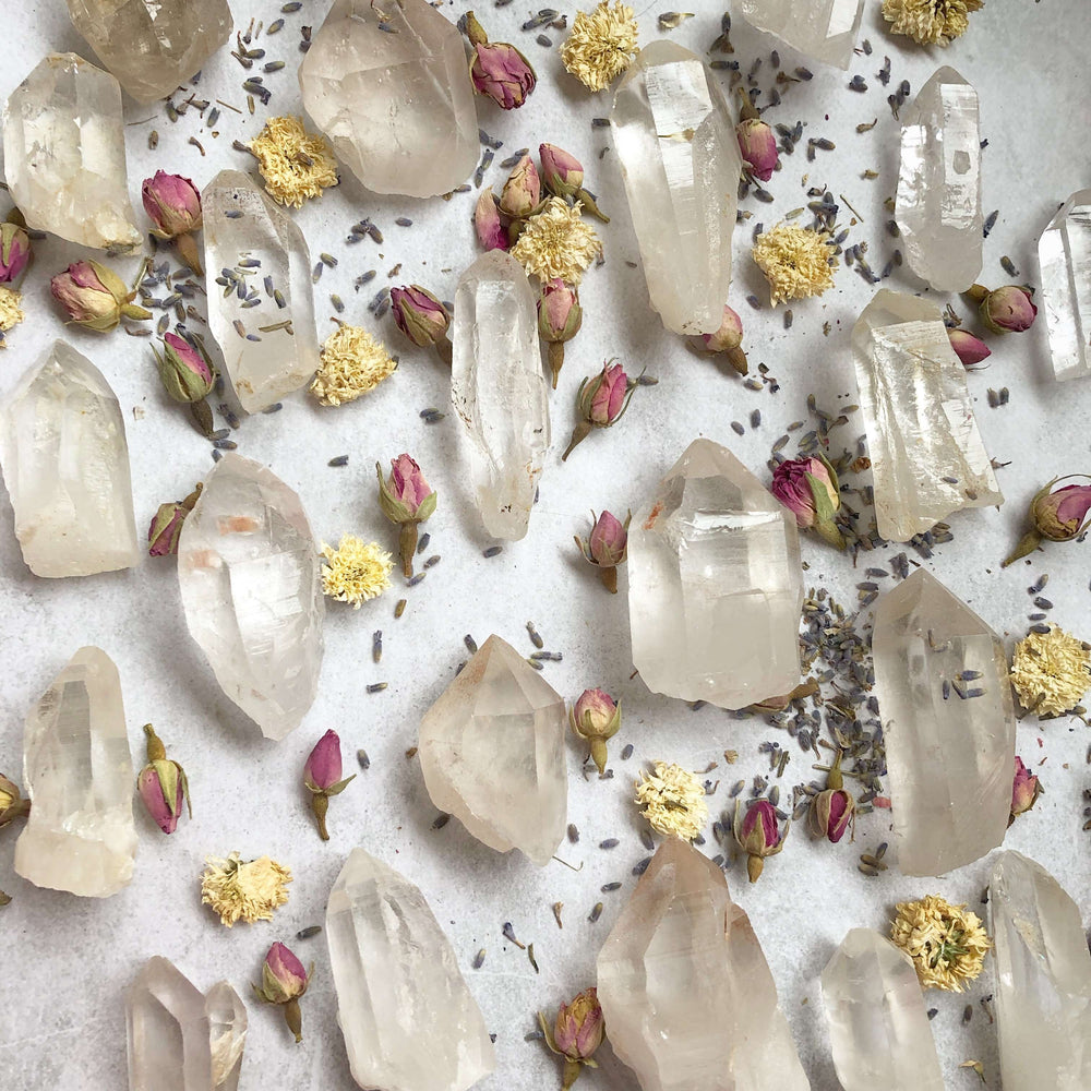Natural Himalayan Quartz Crystal Points