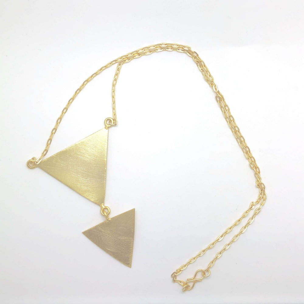 Horus Triangle Necklace