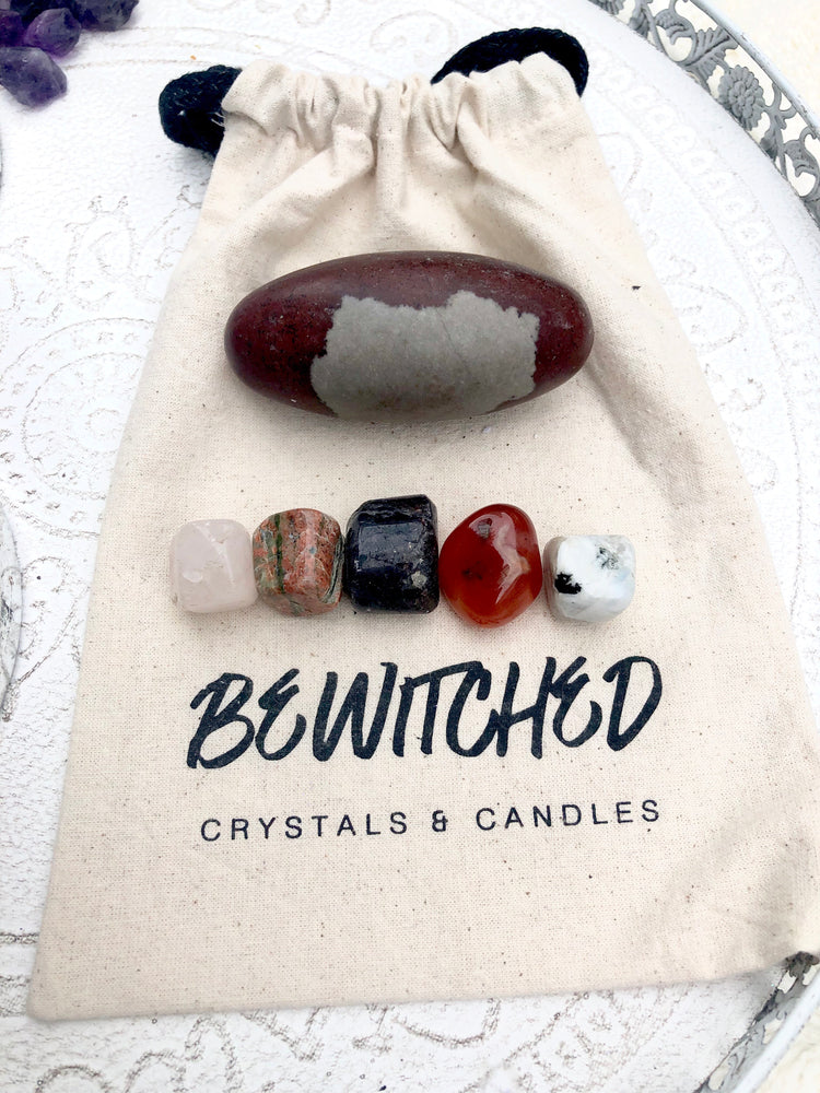 Crystals for Fertility, Kit