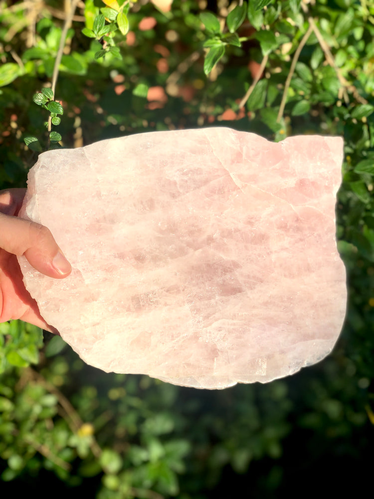Rose Quartz Slab Brazilian 1