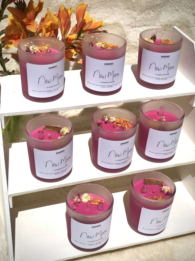 New Moon Intention Candles