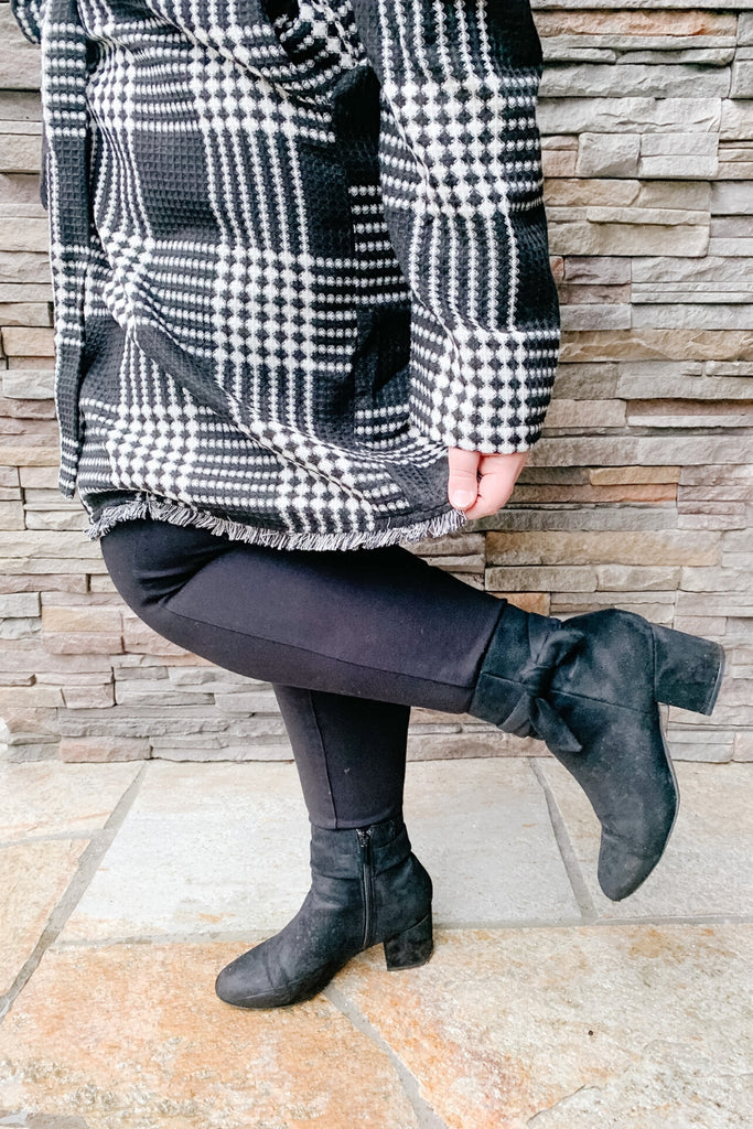 Keep Your Secrets Plaid Coat | Beautifully You