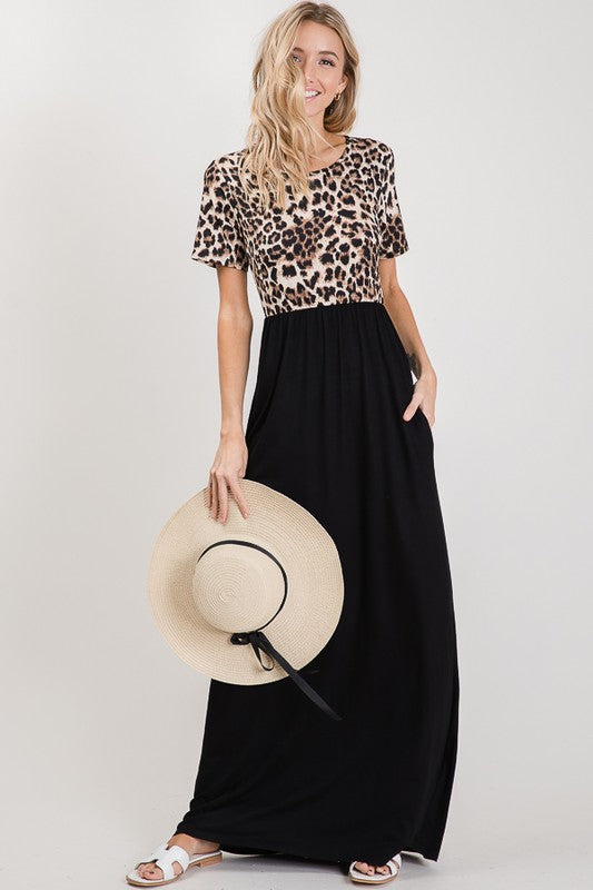 Beautifully You | In The Wild Leopard Maxi Dress
