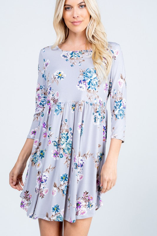 Florally Yours Babydoll Dress