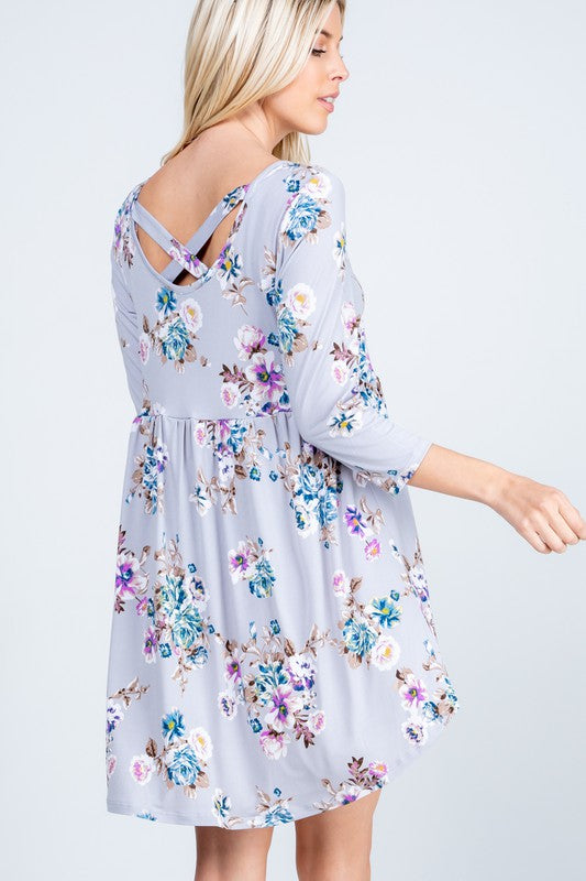 Beautifully You | Florally Yours Babydoll Dress