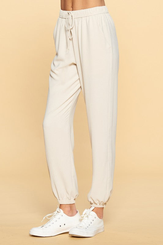 Beautifully You | Go With The Flow Woven Trouser