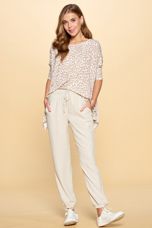 Go With The Flow Woven Trouser