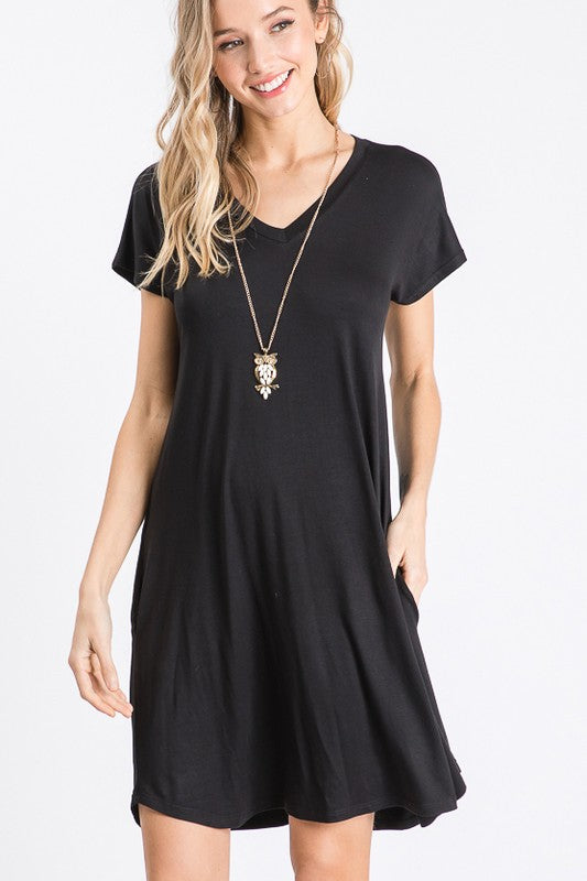 Beautifully You | Basic T-Shirt Dress
