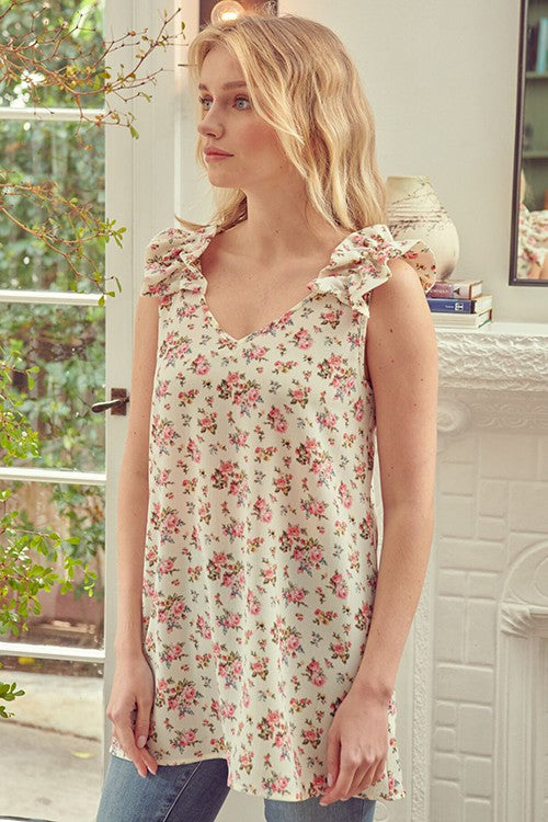 Very Necessary Floral Tunic