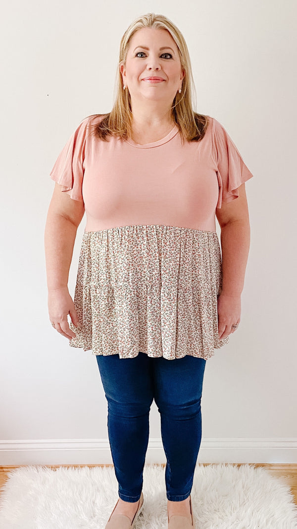 Beautifully You | Days Of Flowers Tiered Top
