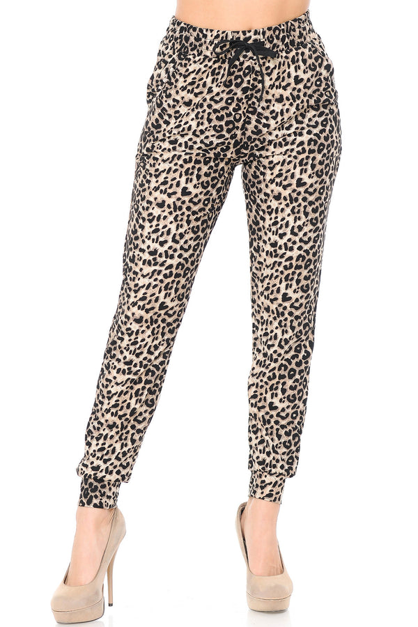 Cat Walk Cheetah Joggers