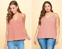 Beautifully You | Dot It Like That Tank Top