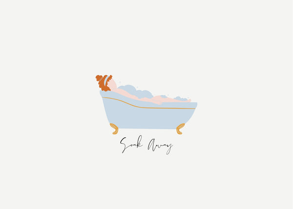 Soak Away Print - Red