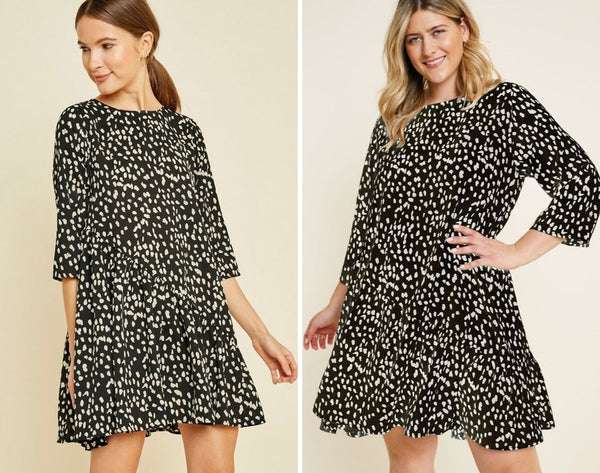 We Dot You Swing Dress