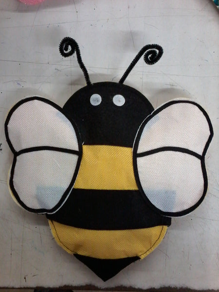 Plush Bee Ornament 13 x 11