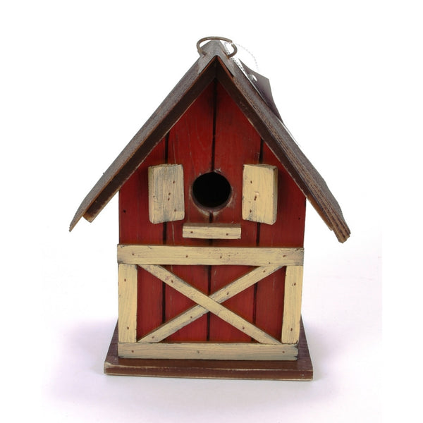 "10"" Farm Birdhouse"