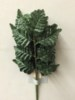 1 dozen silk leather fern stems