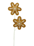 "24"" Plush Snowflake Cookies Spray X 2"