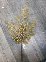 Ball fern glitter spray