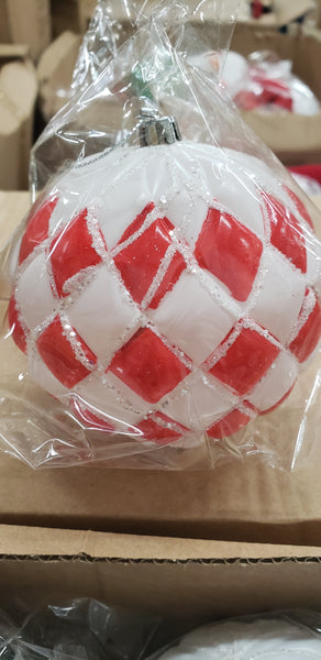 "4"" ornament ball"