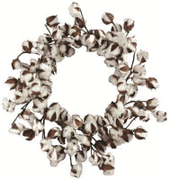 "20""Dia Cotton Wreath"