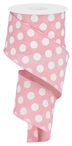 "1.5""X10yd Large Polka Dot"