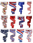"1.5""X10yd Patriotic Assortment"