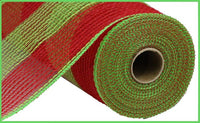 "10.5""X10yd Poly/Faux Jute Wide Stripe"