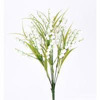 "16"" LILY OF THE VALLEY BUSH X9"