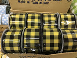 "2.5""X10yd Plaid Check On Royal"