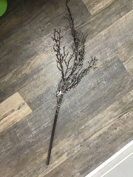 "41"" iced twig branch"