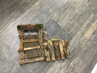 Mossy wood work