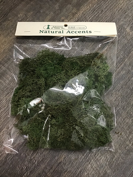 Reindeer softened moss