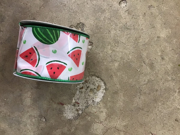 "2.5""x10yds watermelon"