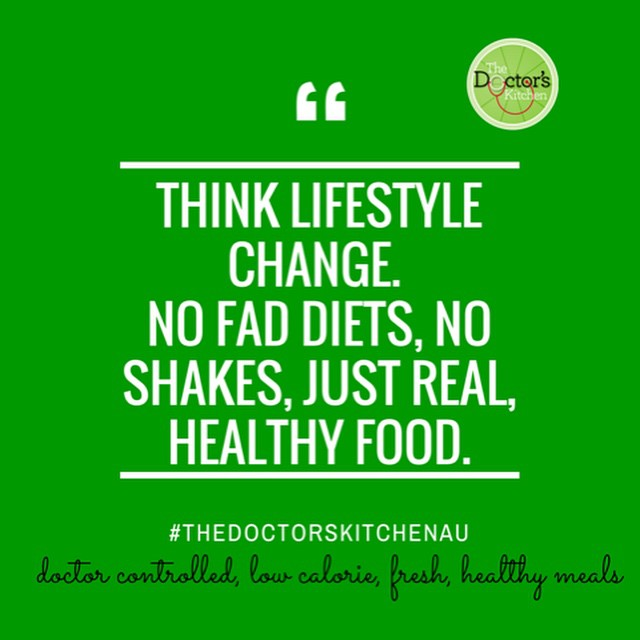 Think lifestyle change. No fad diets, no shakes, just real, healthy food.