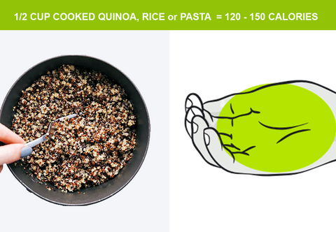 1 cup of quinoa for serving sizes australia and weight loss