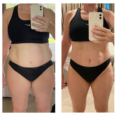 Sally's weight loss transformation using the Doctors weight loss meals for fat loss across Australia
