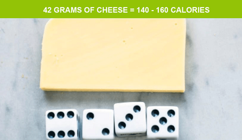 serving size of cheese and weight loss