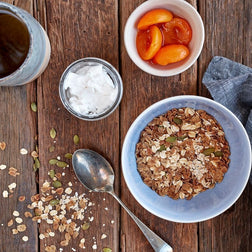 Barley & Oats W/ Coconut Yoghurt & Fruit